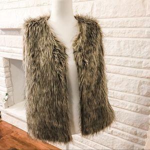 Excellent Condition Faux Fur Vest